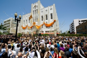 On Saturday, June 2, more than 5,000 Scientologists and guests celebrated the grand opening of the Church of Scientology of Orange County. The Church stands at 505 North Sycamore Street just steps from the birthplace of the city of Santa Ana.