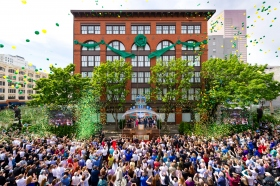More than 2,500 Scientologists and guests were on hand to celebrate a new Church of Scientology for Portland in the city's historic downtown quarter. The Church meticulously preserved their new home, the renowned late-19th century Sherlock Building, to guarantee the landmark may serve Portlanders for yet another century.